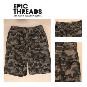🐠3/$9 Boys EPIC THREAD Cotton CAMO Shorts